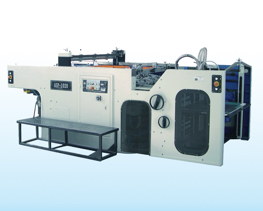 ASP-720/780/1020 Automatic Swing Cylinder Screen Printing Machine